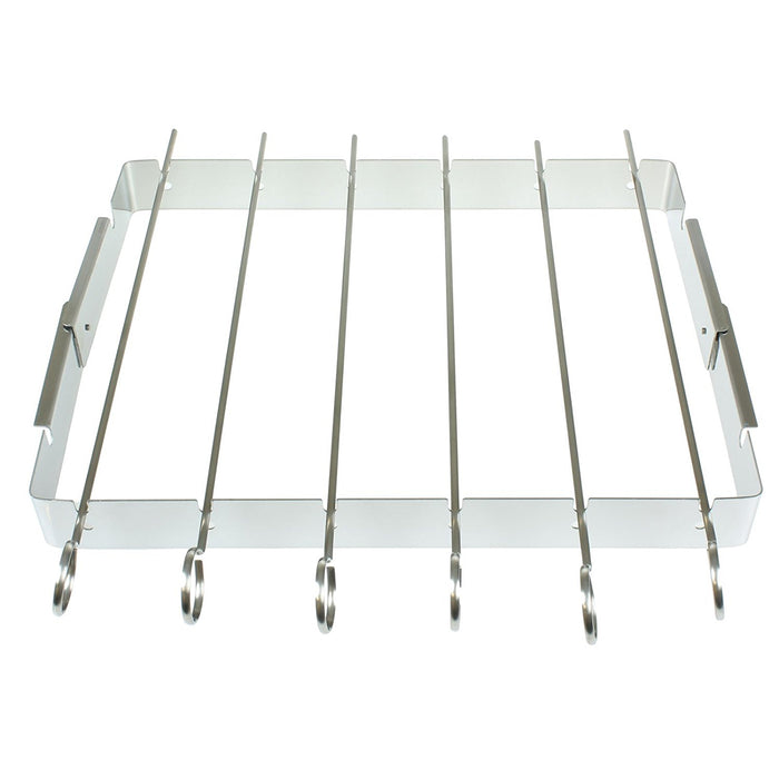 DISC BBQ Kebab Grilling Rack - 6pc