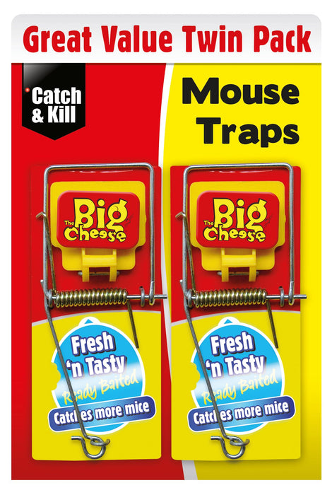 Ready Baited Mouse Traps - Pack of 2