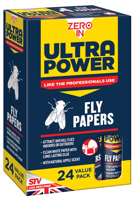 Fly Papers - Pack of 24
