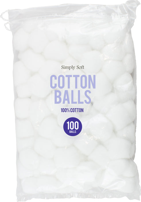 Pure Cotton Wool Balls - 100pc