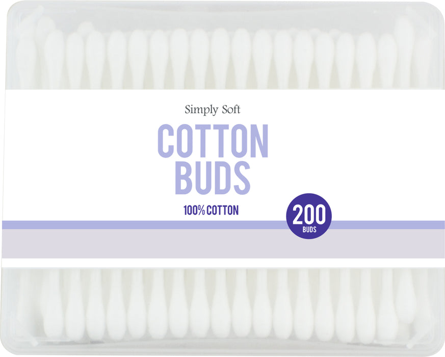 DISC Cotton Wool Buds - 200pc Set