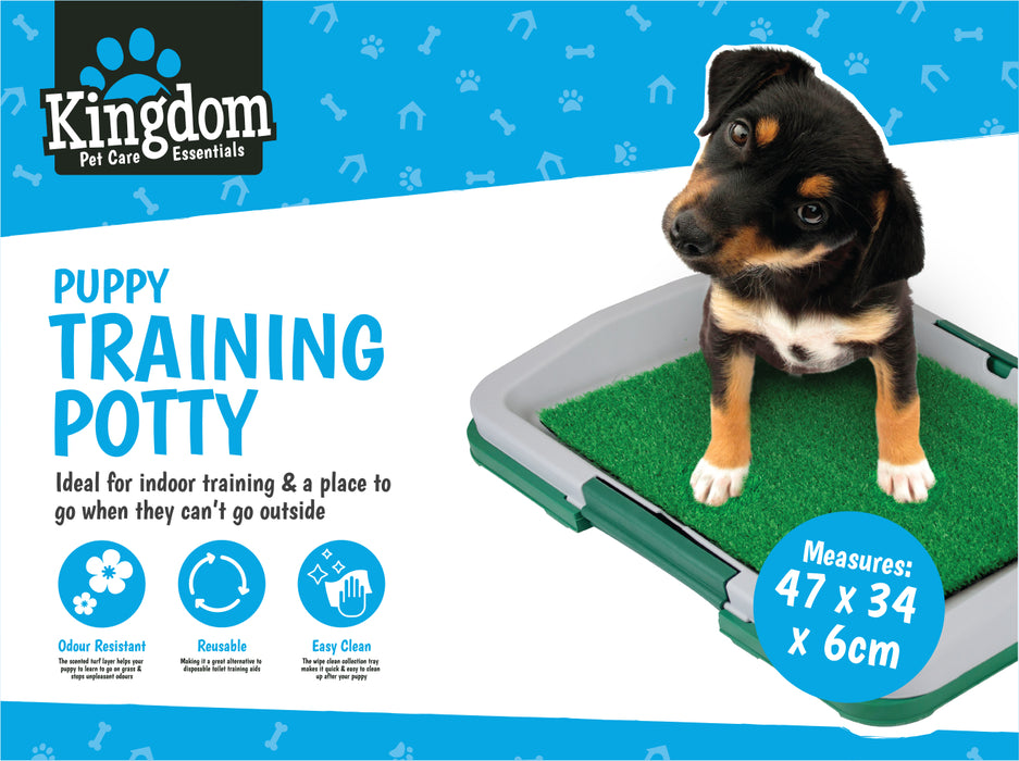 DISC Puppey Training Potty - 47x34 cm