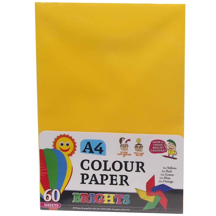 A4 Colour Paper - 6pc0