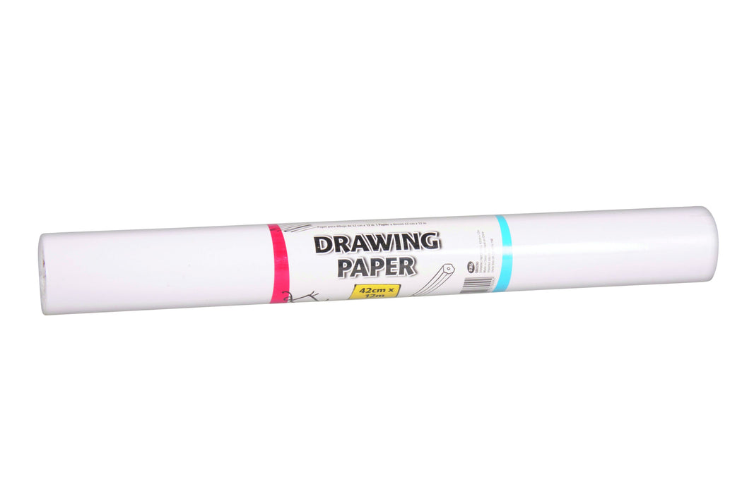 DISC Drawing Paper Roll - 42cm x 12m