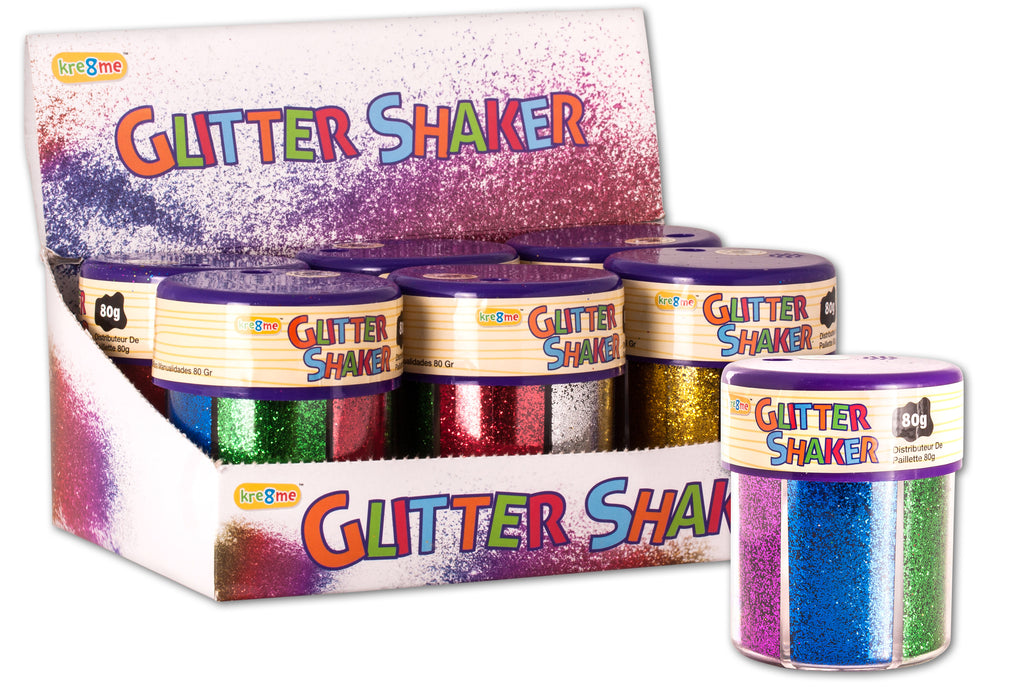 Craft Glitter Shaker - 80g Tub