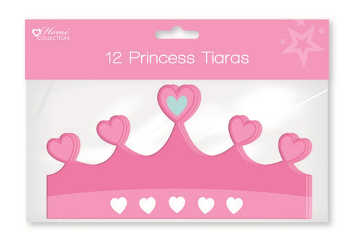 Princess Party Tiaras - 12pc