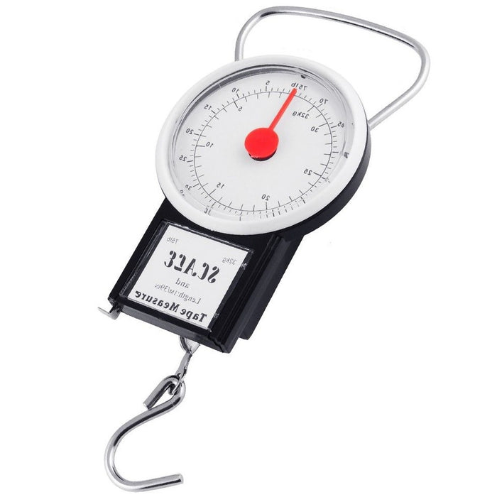 Mechanical Luggage Scale - Includes Tape Measure