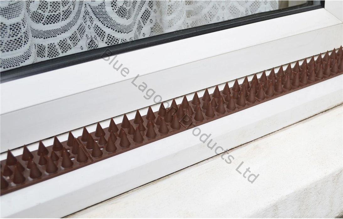 5m Brown Anti Climb Security Spikes