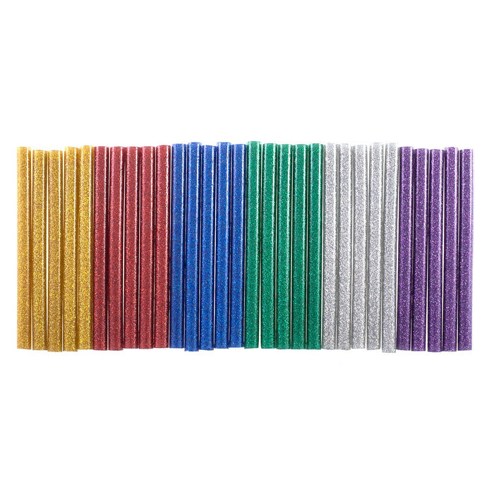 Glitter Hot Melt Glue Sticks - 30pc