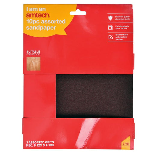 Sandpaper Set - 10pc