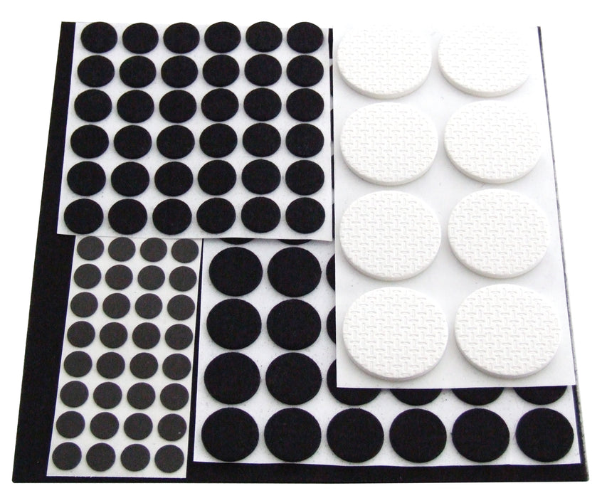 Anti Skid Rubber Pads - 125 Pack