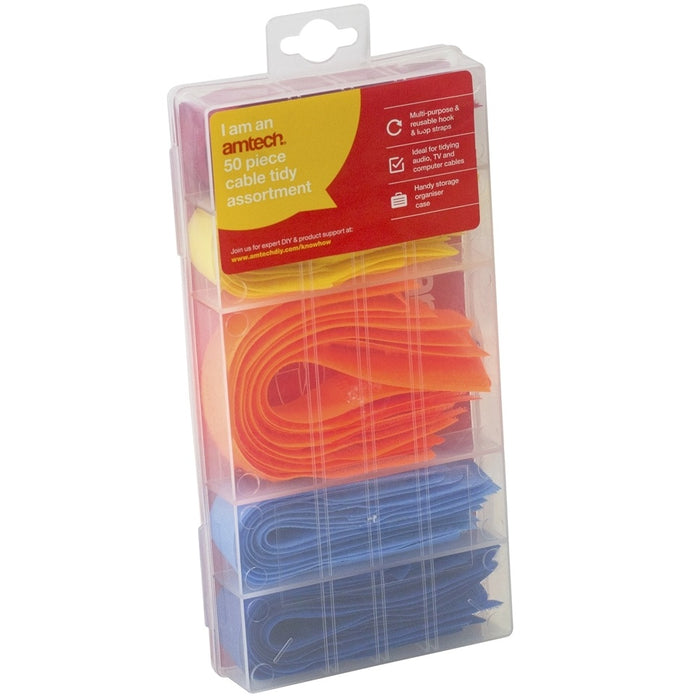 Cable Tidy Assortments - 50pc