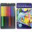 DISC Professional Double Ended Coloured Pencils - 12pc