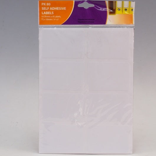 Self Adhesive Labels - 8pc0