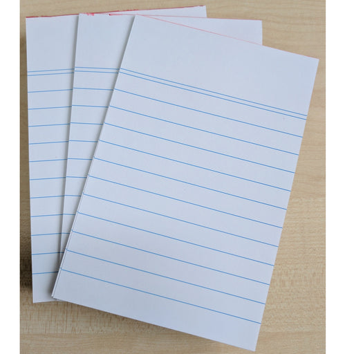 Lined Writing Pads - 8pc Books