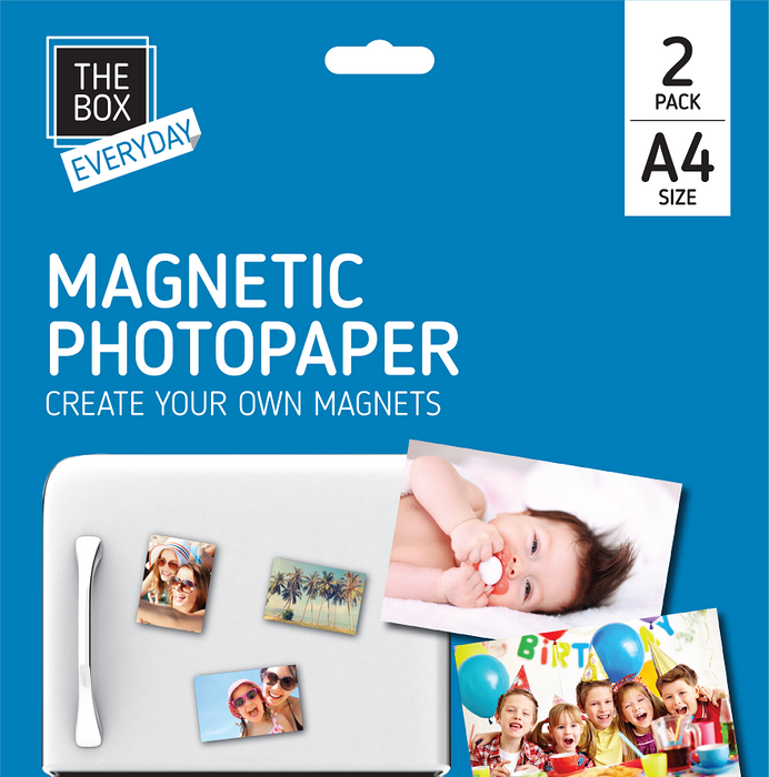 A4 Magnetic Printer Paper 2pc