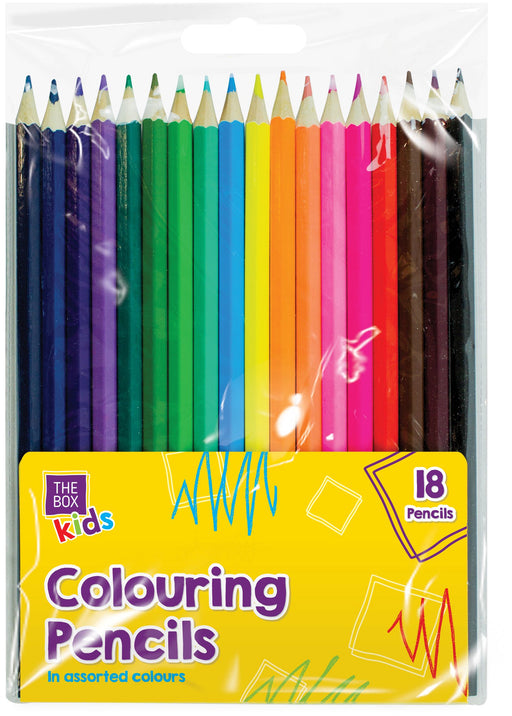Colouring Pencils 18pc Set