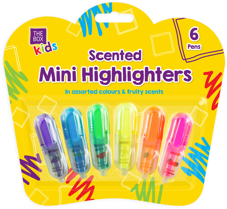 Scented Highlighters 6pc