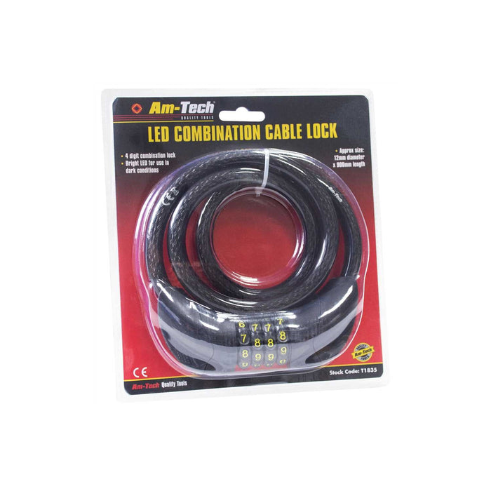 LED Combination Lock Cable