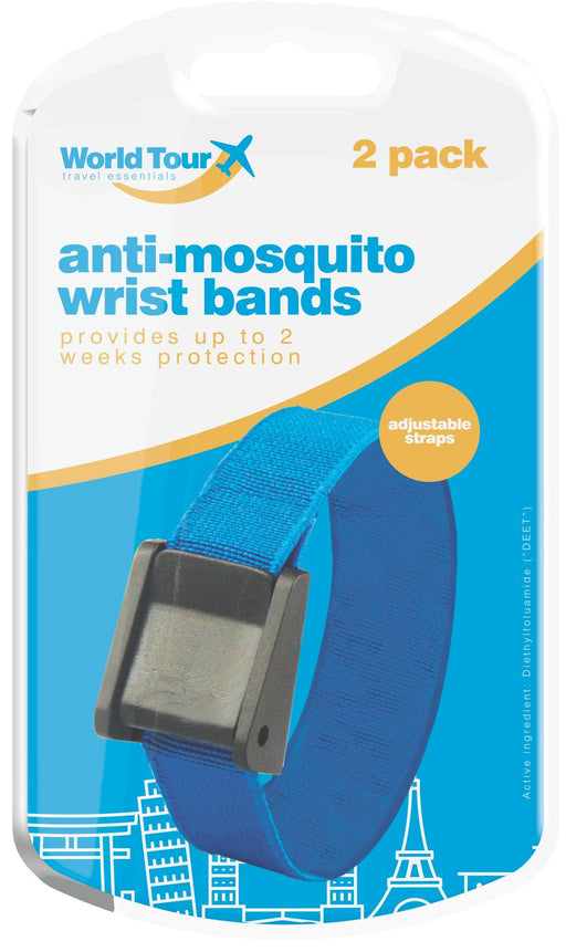 Anti Mosquito Repellent Bands 2pc Set