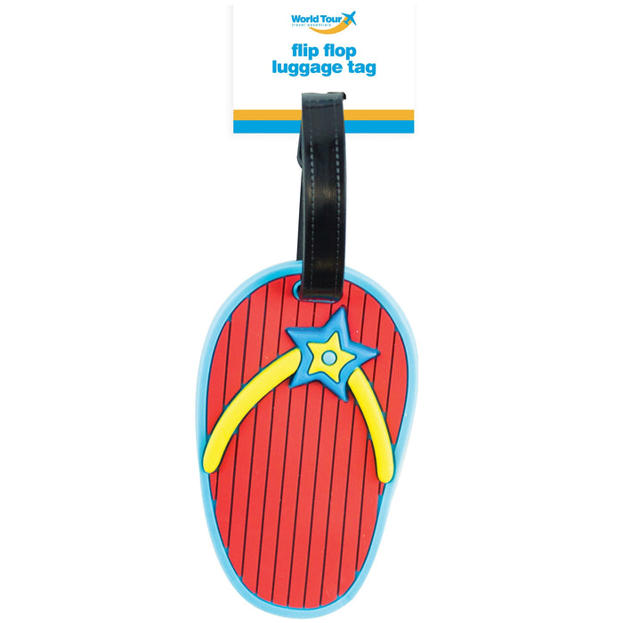 DISC Flip Flop Luggage Tag 10cm