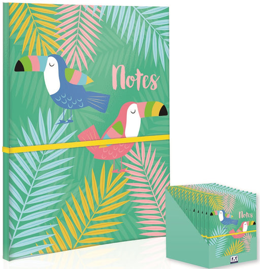 Tropical Cover Notebook - A4