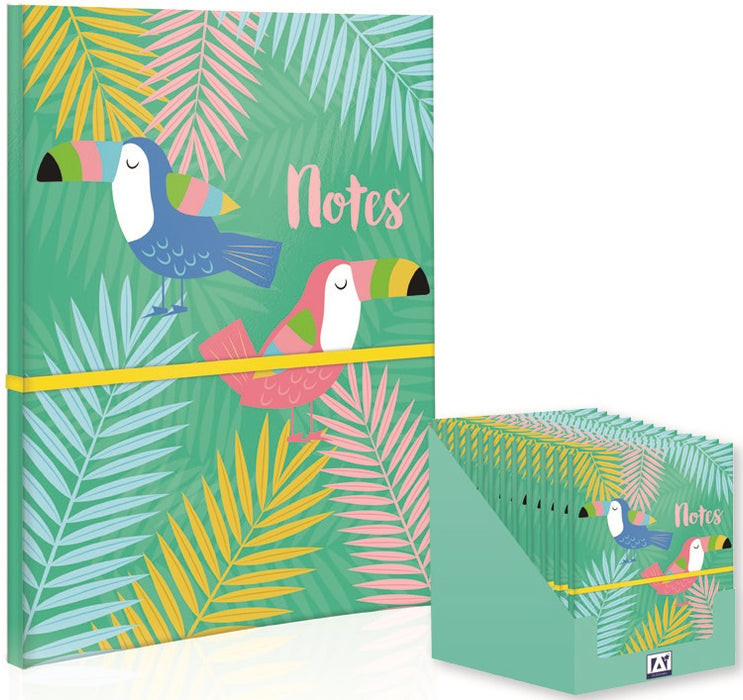 Tropical Cover Notebook - A5