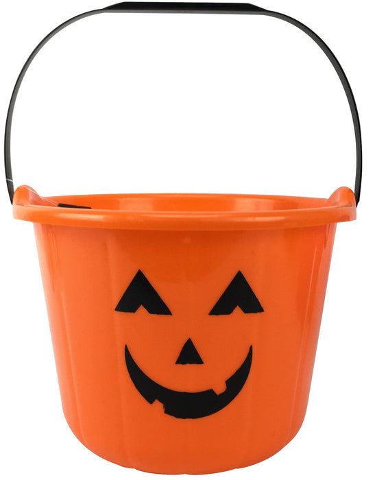 Halloween Pumpkin Bucket - 17cm