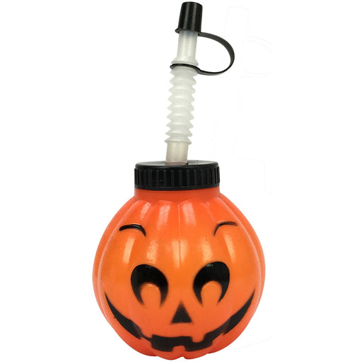 Pumpkin Cup - Includes Straw