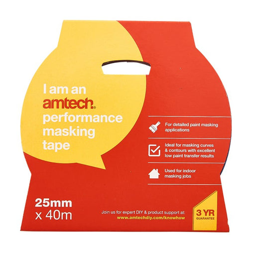 DISC Performance Masking Tape - 25mm x 40m