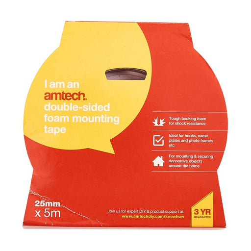 Double Sided Mounting Tape - 25mm x 5m