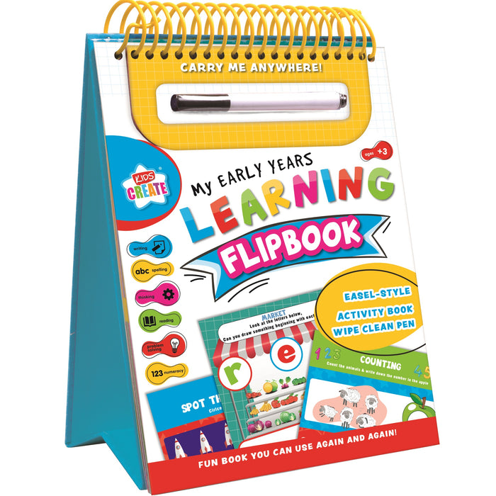 DISC Early Years Wipe Clean - Flip Book