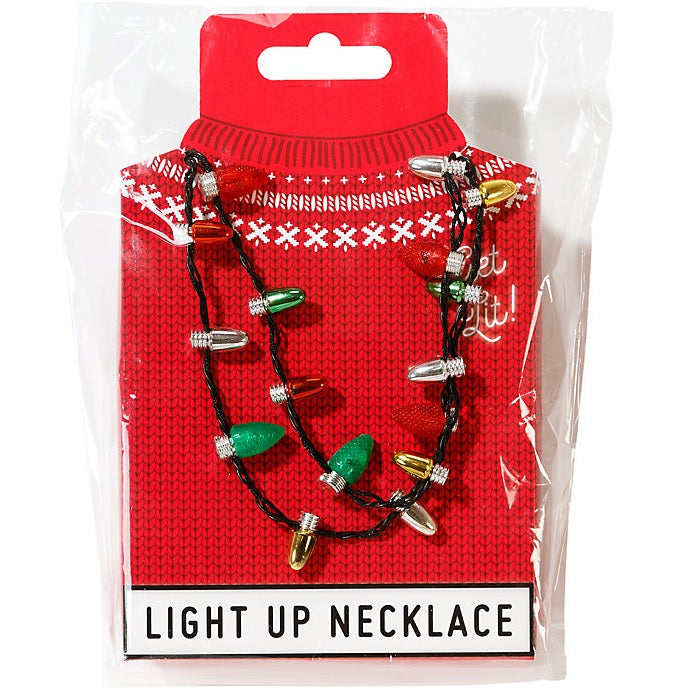 Flashing Party Necklace - Battery Operated
