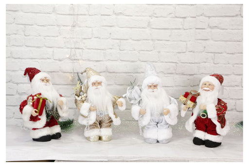 Wind Up Musical Santa - 35cm