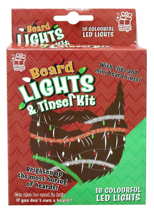 Beard Lights And Tinsel - Kit