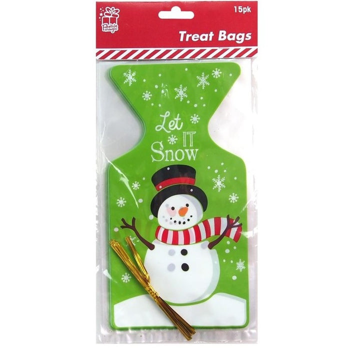 Christmas Treat Bags - 15pc