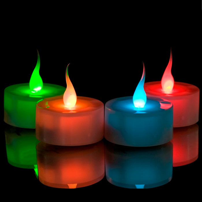 LED Flickering Candle - 6pc