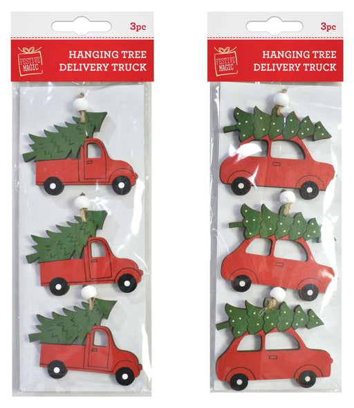 Hanging Tree On Car - 3pc