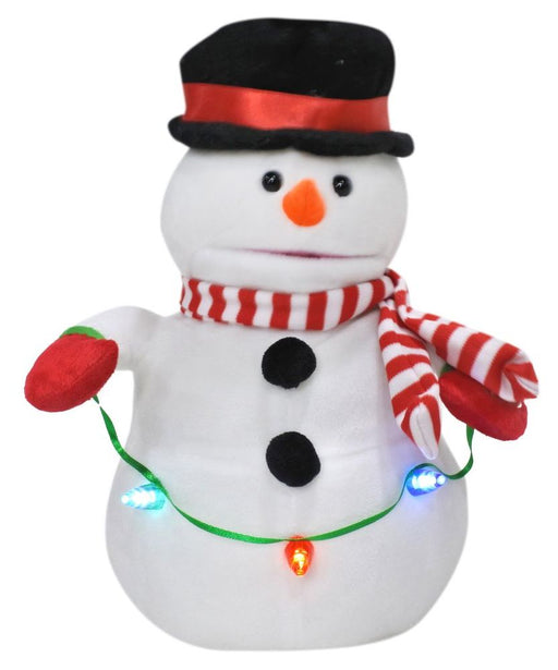 Singing And Dancing Snowman - 30cm