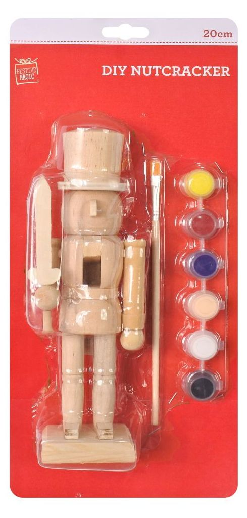 DIY Nutcracker Painting Kit - 20cm