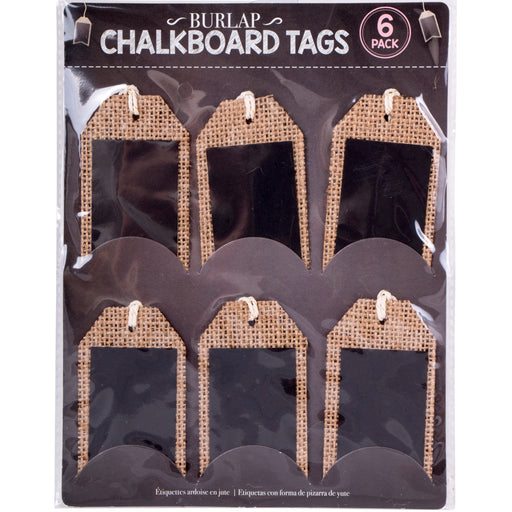 Chalkboard Tags - 6pc