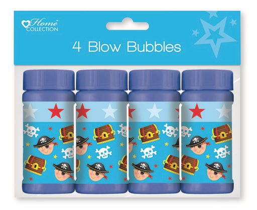 Pirates Blow Bubble Pots - 4pc