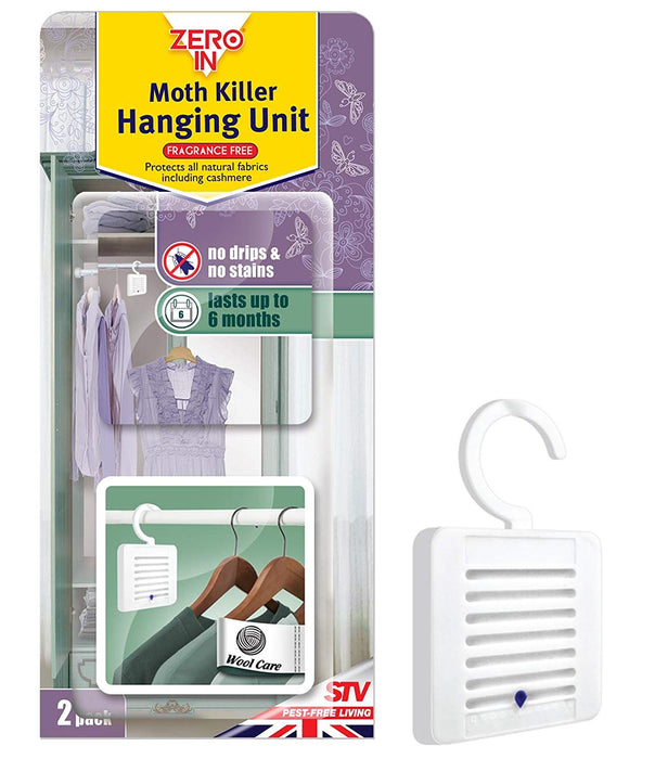 Moth Killer Hanging Unit - Pack of 2