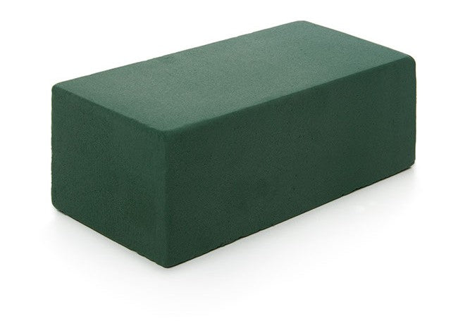 Green Floral Foam Block