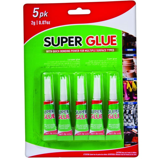 Super Glue - 5pc