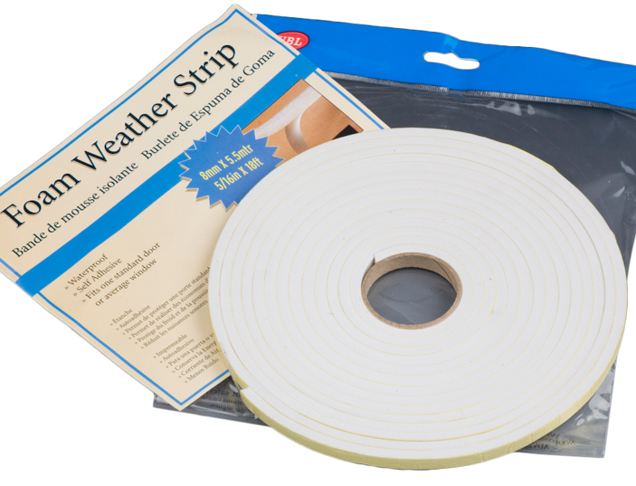 Foam Weather Strip - 5.5 Metre