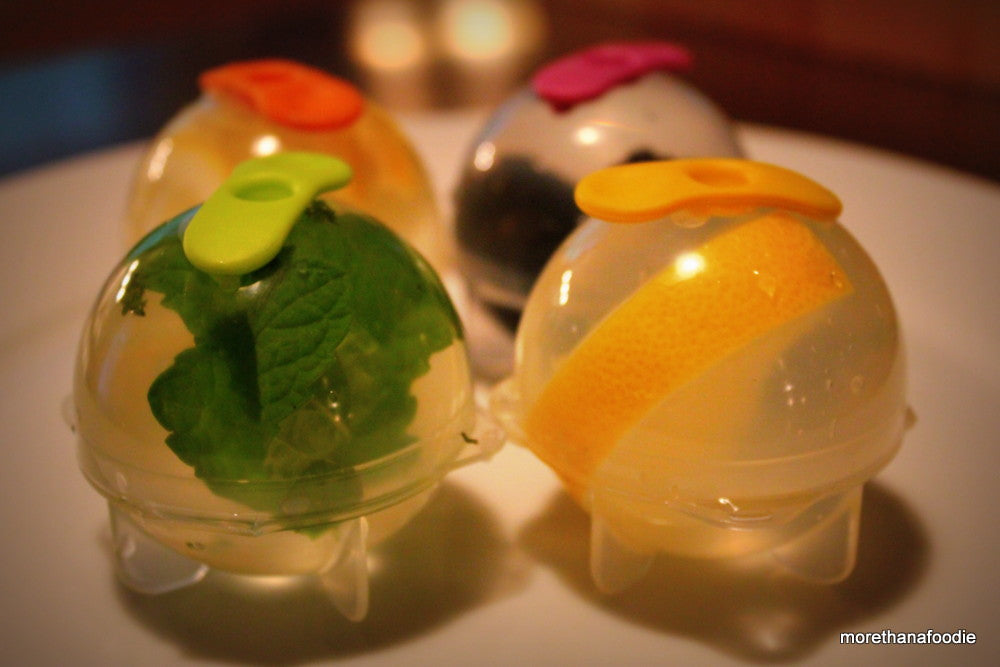 Fruit Infusion Ice Cube Balls - 4pc