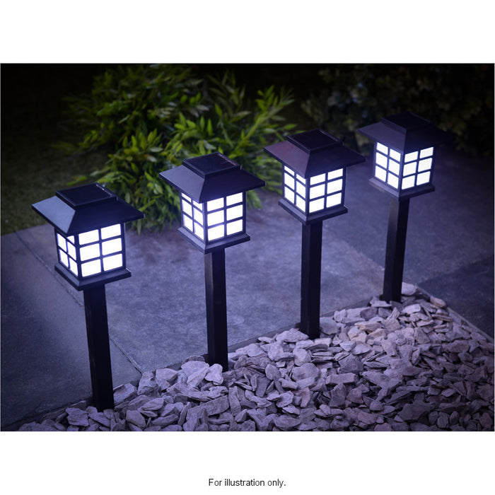 Solar Oriental Carriage Lights  - Pack of 12 Fixtures
