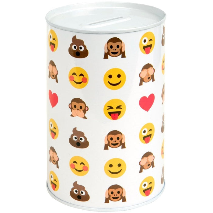 Smiley Face Money Tin - Novelty Design