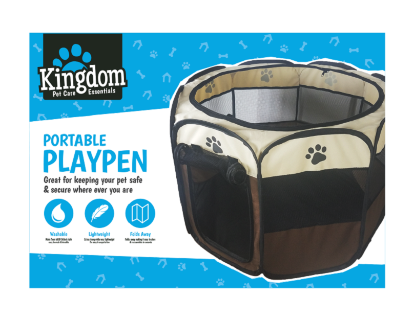 Pet Portable Playpen - 74cm